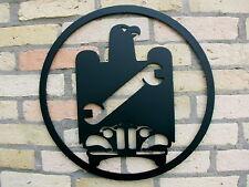 KFZ das Zunftzeichen aus 3mm Stahl, Innungsschild mit 40cm ab 46,-€, MAIBAUMDEKO