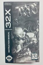 Tempo - Sega Genesis 32X - Reproduction Manual, Instruction Booklet - Mega Drive