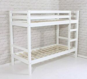 """Bunk Bed Shorty New White Pine Wooden  2ft 6"""""""