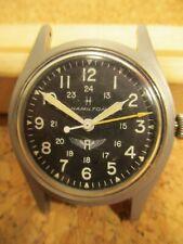 Hamilton 9415 Avirex Branded Mechanical Winding Wrist Watch Hack Military