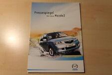 01908) Mazda 2 - Pressespiegel - Prospekt 2003