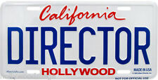 Director License Plate - 5675