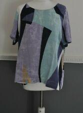 Sandwich Womens Top Blouse Shirt UK 14 Large 100% Viscose