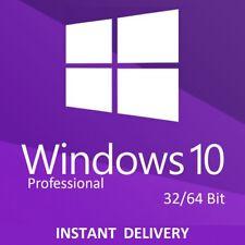 Windows 10 Professional 32/64 Bit Win 10 Pro Activation Key Code Lizenzschlüssel