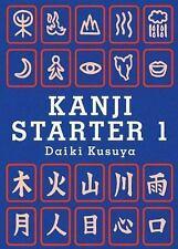 Kanji Starter 1 by Daiki Kusuya (2006, Paperback)