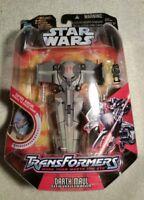 New in Box!Hasbro Star Wars Transformers MIP Darth Maul sith infiltrator