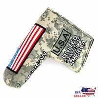 Heavy Duty USA Military Putter Cover For Scotty Cameron Taylormade Odyssey