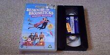 Bedknobs And Broomsticks Special Edition WALT DISNEY UK PAL VHS VIDEO 1995 UNCUT