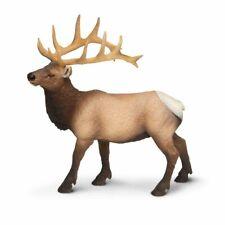 Safari Ltd. Elk Bull Wildlife Replica Figure Toy 180329 New