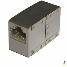 Logilink NP0031 Gigabit Kupplung Verbinder DSL Patch Kabel Netzwerk Verlängerung