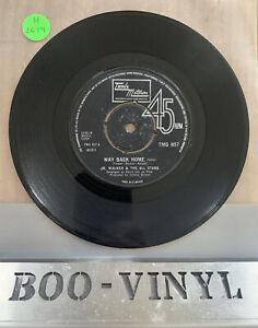 "JR WALKER & THE ALL STARS - WAY BACK HOME  7"" VINYL (TMG 857) EX CON"