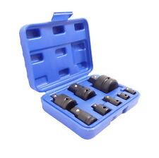 """8 piezas Taladradora adapter-satz 1/4"""" -1"""" Adaptador Tuerca Conector Reductor"""