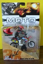 Hot Wheels Racing Moto Jeff Ward Honda #3x 2005 NIP