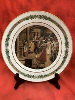 Department 56 CHRISTMAS CLASSIC SCENES Dinner Plate # IV