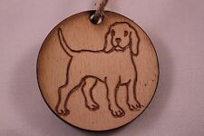 Christmas Tree Decoration Dog. Vintage shabby chic  - Labrador / Hound / Puppy