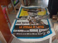El Estrella de Lata Manifesto 4F Original 1973 John Wayne
