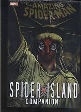 SPIDER-MAN: SPIDER ISLAND COMPANION HARDCOVER Amazing Marvel Comics 360 PAGES HC