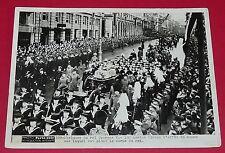 RARE PHOTO PARIS-SOIR 1936 OBSEQUES DU ROI GEORGE V ENGLAND