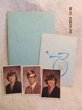 Owensville High School Memories Book & Invitation to 1973 Commencement Exercise