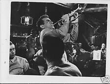 Montgomery Clift plays bugle VINTAGE Photo trimmed