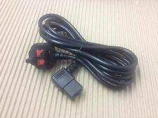 Cordon d'alimentation angle droit câble secteur 2.5m lifefitness life fitness iec c19 N120