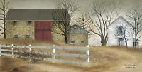 Art Print, Framed or Plaque by Billy Jacobs - Old Stone Barn - BJ103F