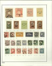 Turkey/Hungary Album Page Of Stamps #V14157