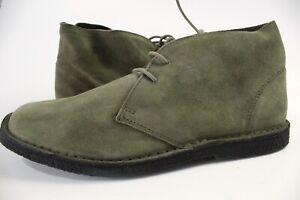 Pretty Green Desert Boots, Mens Suede Desert Boots UK Size 8