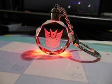Transformers**Decepticons**Keychain**( LED. Light )***Free  Shipping**