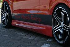 N-Race Seitenschweller Schweller Sideskirts ABS für Ford Fiesta 6 MK 6 Facelift