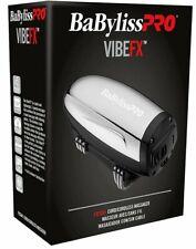 Babyliss Pro vibefx Masajeador Cable/Inalámbrico 2-Spd Acero Inoxidable FXSSM1 de litio