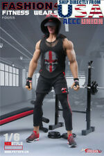 1/6 Fitness Coach Gym Wear Clothing Set For PHICEN M34 M35 Male Muscular Figure