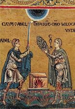 Monreale Cain and Abel offer Gifts to God Caino e Abele offrono doni a Dio
