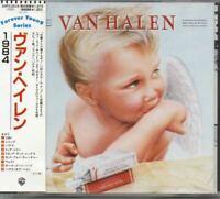 Van Halen 1984 JAPAN CD with OBI 20P2-2618