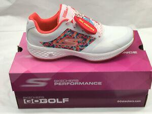Skechers Go Golf Major White/Multi Womens Golf Shoes 8M Were $100