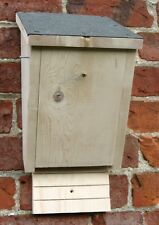 Fatto a mano in legno Tanglewood BAT BOX Casa-apertura frontale-legname non trattato