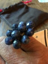 blue cocktail ring Size 5 Garnet Hill
