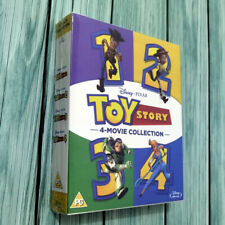 Toy Story Complete Collection [1-4] (Blu-ray, 5 Discs, Disney, Region Free) New
