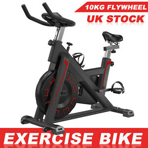 Pro Exercise Bikes Indoor LCD Cycling Bicycle Home GYM Fitness Workout Cardio UK