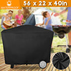 Heavy Duty BBQ Grill Cover Gas Barbecue Cover Outdoor Waterproof 56in