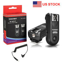 Yongnuo RF-603 II C3 Wireless Remote Flash Trigger for Canon 6D 5D MK II III US