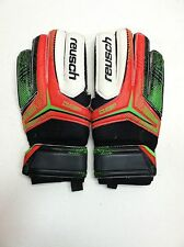 Reusch Receptor SG Finger Support Soccer Goalkeeper Gloves 3570822 White Size 8