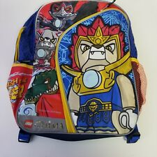 Legends of Chima Lego Childs Backpack Unleash The Power Red Bue Black Nwt