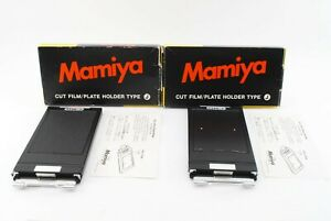 [Mint in BOX] Mamiya RB67 Double Cut Film Plate Holder Type J From Japan #526