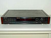 Sony ST-S505ES High-End Stereo AM/FM RDS Tuner, mit Holzwangen, 2J. Garantie