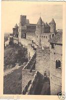 11 - cpa - Cité de CARCASSONNE - Le château - Défenses du front occidental