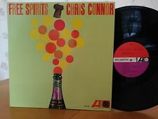 Chris Connor,Free Spirits,Atlantic 8061,White Fan,1stMONO,1962,VG+ Vinyl,Jazz LP