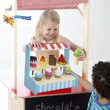Enfant Bois Glace Magasin Lolli Support Jeux de Rôle Nourriture Set Jouet