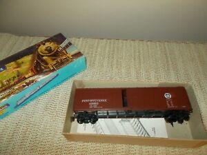 ATHEARN 5059 50' SINGLE DOOR BOX CAR KIT, PENNSYLVANIA RR, EXCELLENT PREBUILT