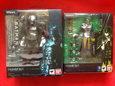 AUTHENTIC BATMAN + JOKER S.H Figuarts INJUSTICE Ver. figures BANDAI